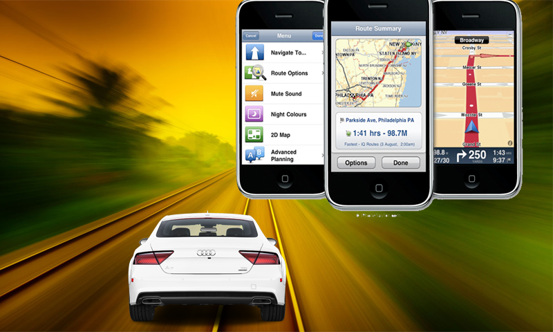 Gps navigation-maps route finder location tracker- screenshot