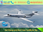 Cheapest ICU Air Ambulance Service in Hyderabad by Sky