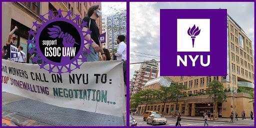NYU Administration Pressures Professors to Help Break GSOC Strike