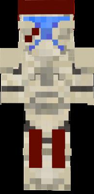 An experienced clone commando