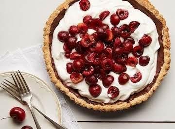 Cherry Almond Butter Tart Gluten Free