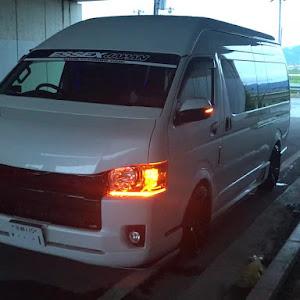 ハイエース スーパーロング  4型後期スーパーロング特装4WDのカスタム事例画像  tetsuyaさんの2018年08月23日09:59の投稿