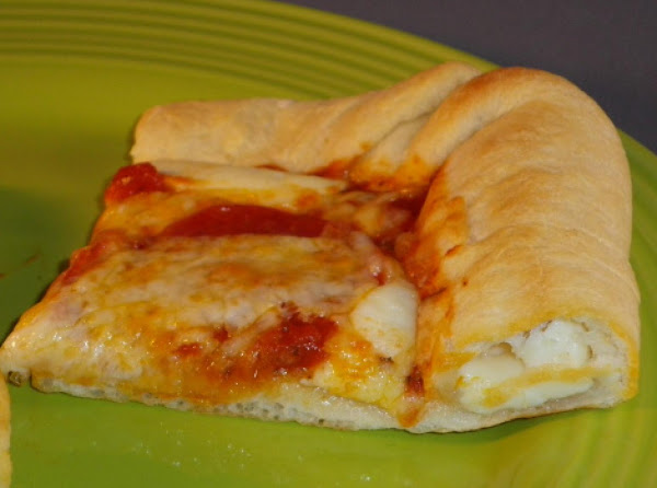 Stuffed Crust Pizza Recipe
