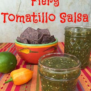 Fiery Tomatillo Salsa