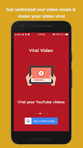 Viral Video Booster for YouTube-View4View YT Video 1 4 +