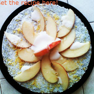 Raw Apple Superfood Ice Cream Cake