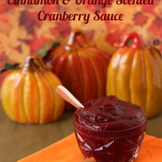 Cranberry Sauce With Orange Juice And Brown Sugar Recipes