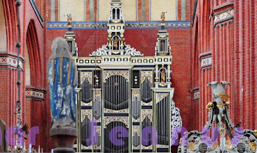Photo: Orgel aus Freiberg in St. Nikolai Wismar