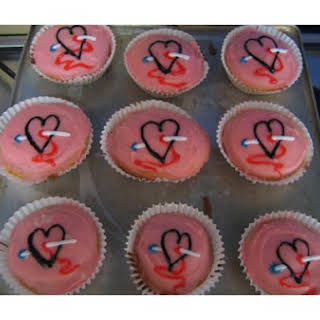 Valentine Cupcakes.