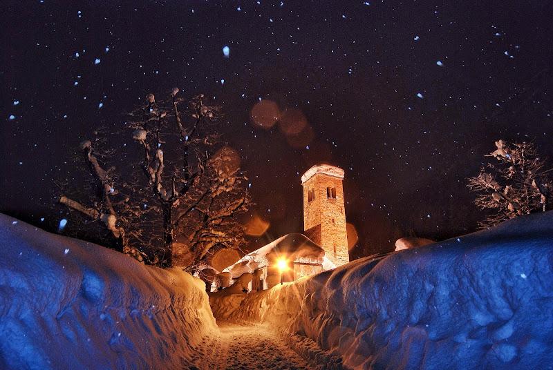 Nevicata nel Vecchio Borgo di Luca Tondat