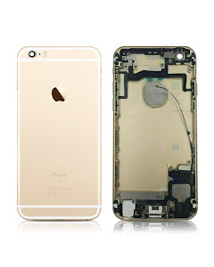 iPhone 6S Back Housing with small parts Original Pulled Gold