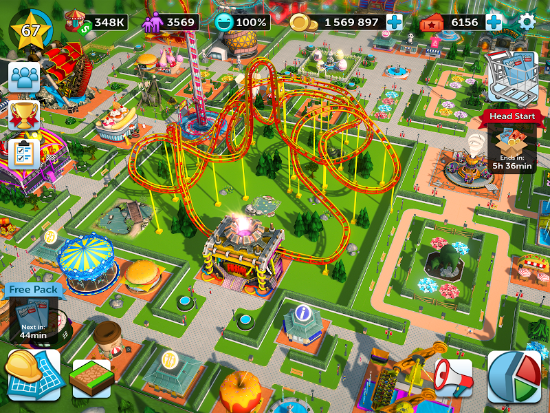 RollerCoaster Tycoon Touch Screenshot 17