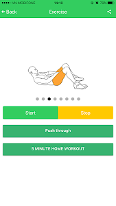 Abs 5 minutes workout screenshot 17