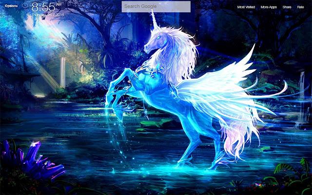 Unicorn FullHD New Tab Wallpapers