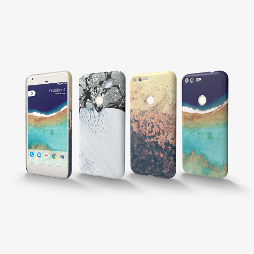 design your own live cases google store