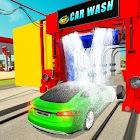 Drive Thru Car Wash Car Driving Sim-Parking Games