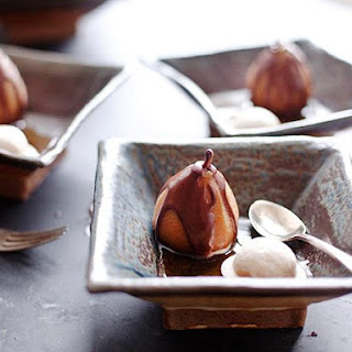 Chai Poached Pears Recipe