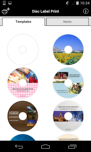 Disc Label Print 1.0.0 Windows u7528 1
