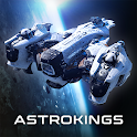ASTROKINGS: Spaceship Wars & Space Strategy icon