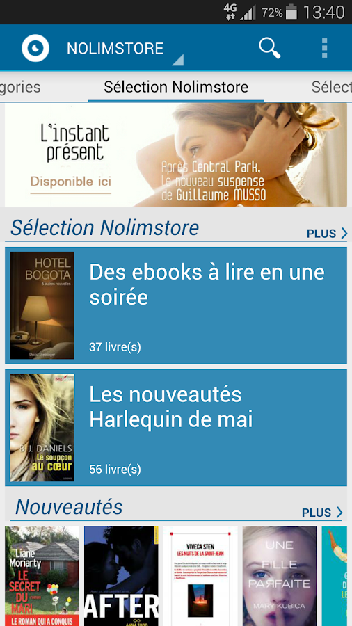 Nolim Book- screenshot