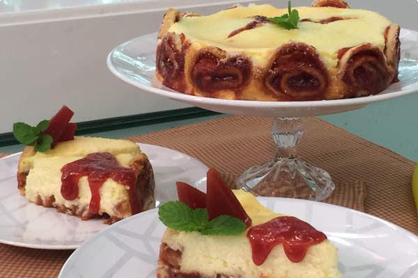 Cheesecake de Rolo