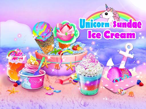 Unicorn Ice Cream Sundae - Ice Desserts Maker 1.1 screenshots 9