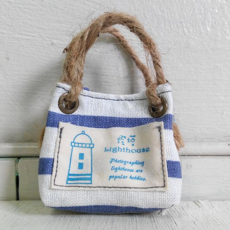 Lighthouse Mini Bag by Lessugar Handmade