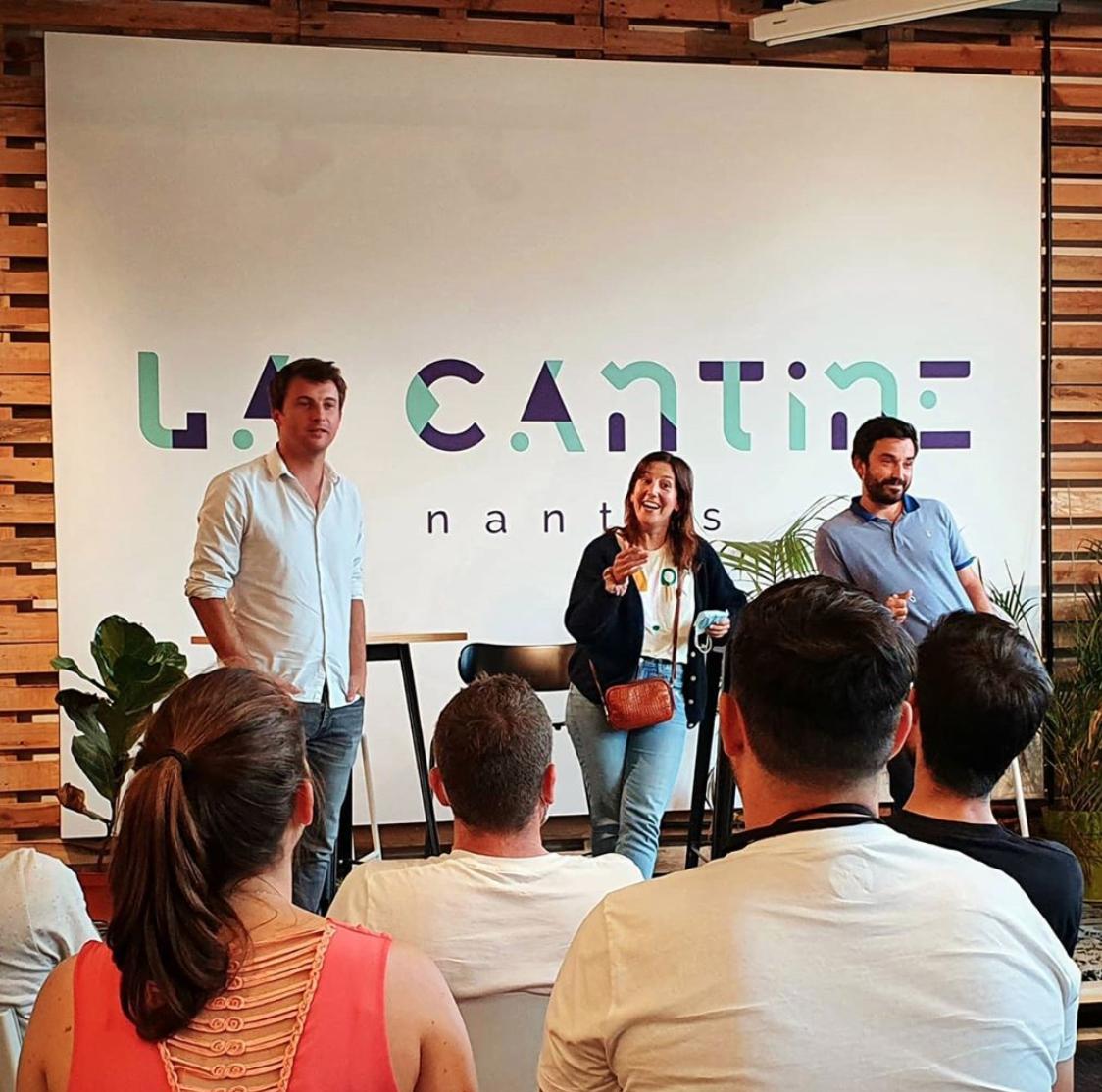 Nantes écosystème tech la Cantine espace de coworking
