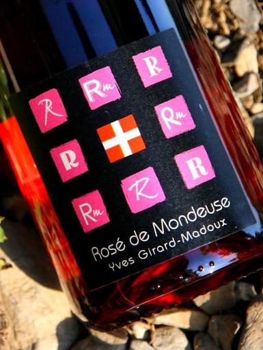 Rosé Mondeuse - Savoie Wine - Chignin - Vignoble de la Pierre