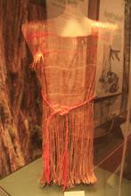 Photo: Traditional Tulalip garment made from tree bark.
