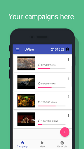 UView - View4View for YouTube video 2.5 screenshots 2
