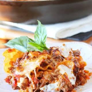 15 Minute Lasagna.