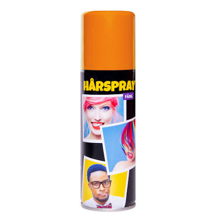 Hårspray, orange
