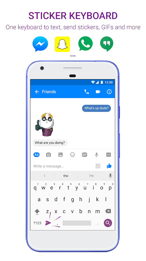 Sticker Market: Emoji keyboard- screenshot