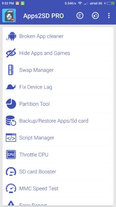 App2SD PRO: All in One Tool [50% OFF] Screenshot 1