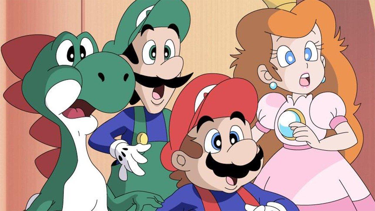 Watch Captain N & New Super Mario World live