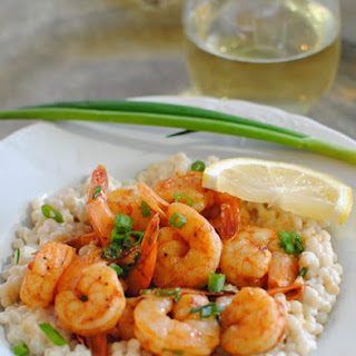Shrimp with Creamy Couscous Recipe