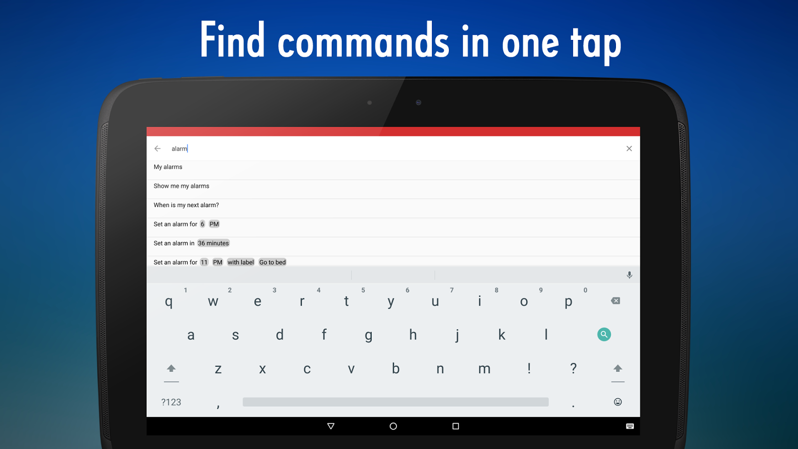 how to get google voice command