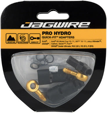 Jagwire Pro Disc Hydraulic Hose Quick-Fit Adapters for SRAM Guide R alternate image 0