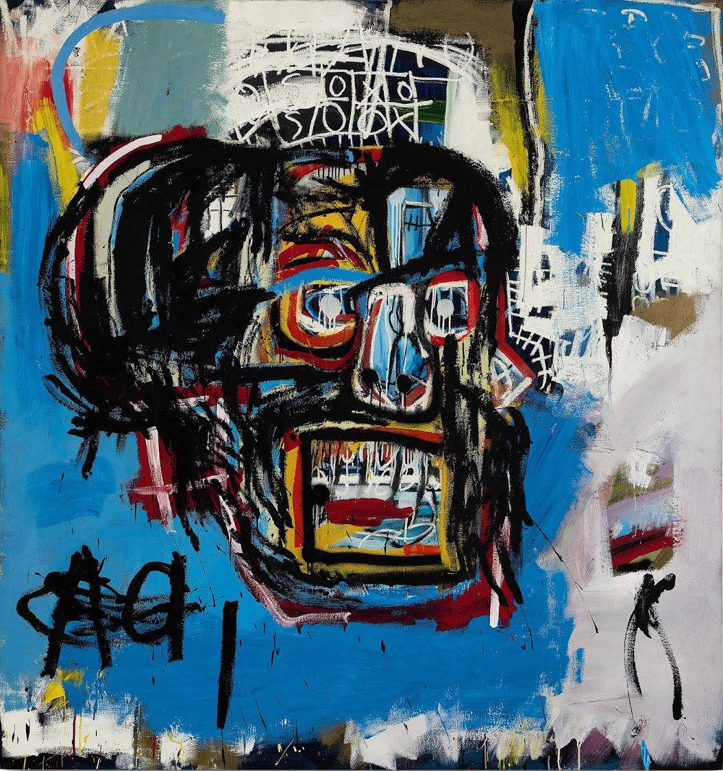 Jean Michel-Basquiat, Untitled 1982. Source: SOTHEBY'S