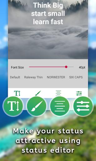 Gallery Status Saver & Downloader - Status Editor screenshot 10
