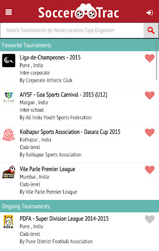 SoccerTrac app (apk) free download for Android/PC/Windows screenshot