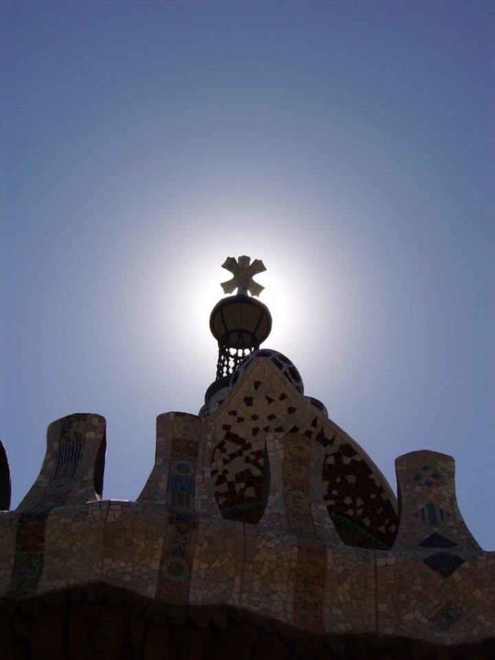 Eclissi al Parc Guell di Mizar