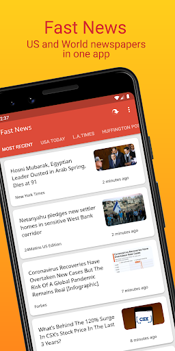Fast News 3.5.5 Screenshots 1