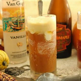Maple Vanilla Beer Float.
