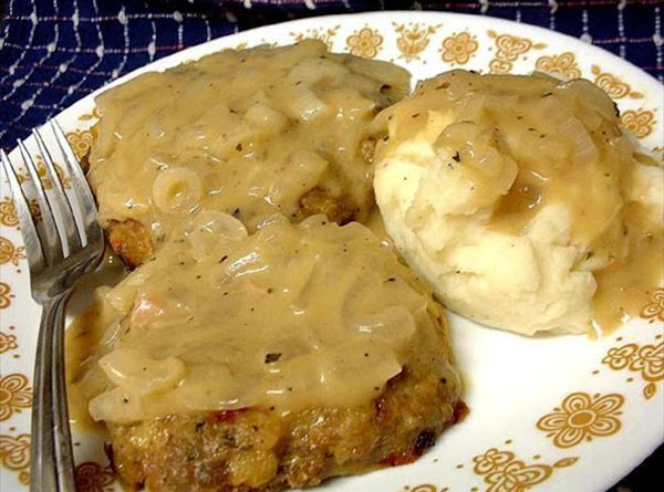 Turkey And Dressing Patties With Gravy For Recipe 2