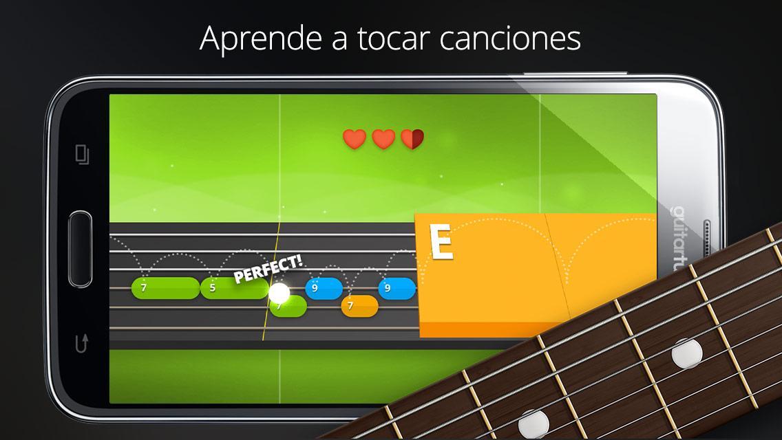 Afinador guitarra - GuitarTuna: captura de pantalla