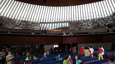 Photo: 3. den - Po připlutí do Turku a příjezdu do Helsinek začínáme návštěvou kostela Temppeliaukio (Helsinki)