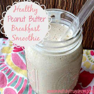 My Favorite Healthy Breakfast Smoothie.