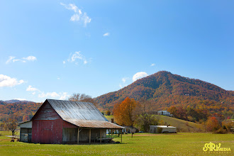 Photo: Tennessee Farm with a Smoky Mt. Backdrop :]